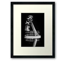 Storm Sipper Framed Print