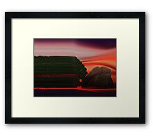 ©DA Concept Tree IR Framed Print