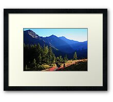 Shadowy Highwood Framed Print
