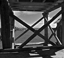 Old Shrimp Fishing Pier by Scott Johnson