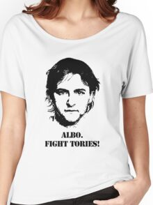 Albo. Fight Tories! Women's Relaxed Fit T-Shirt