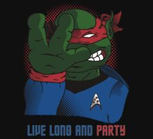 Live Long and Party! - Cool but Rude by BanzaiDesigns