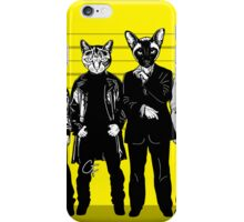 Feline-up - McManus & Fenster iPhone Case/Skin