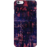 red blue study iPhone Case/Skin