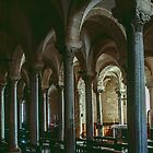Upper crypt Duomo Trani 19840404 0020 by Fred Mitchell