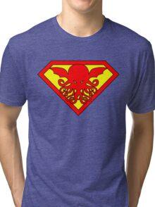 Super Cthulhu Tri-blend T-Shirt