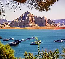 Wahweap Moorings - Lake Powell Arizona USA by TonyCrehan