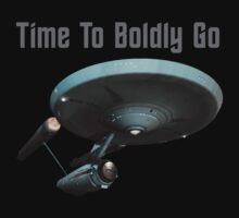 Time To Boldly Go by Gimena Williams