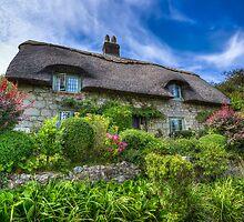 Godshill Cottage by manateevoyager