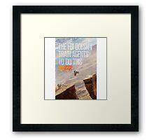 Point Break 2015 2 Framed Print