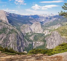 Glacier Point View - Yosemite Valley - California USA by TonyCrehan