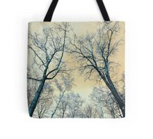 Trees Infrared Nature Tote Bag