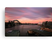 99 Seconds of Sydney Canvas Print
