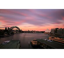 99 Seconds of Sydney Photographic Print