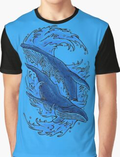 Humpback whales Graphic T-Shirt