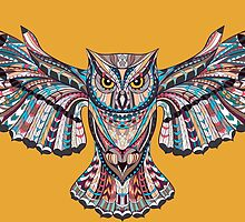 Owl Ethnic Animals by MrNicekat