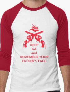 Keep KA - red edition Men's Baseball ¾ T-Shirt