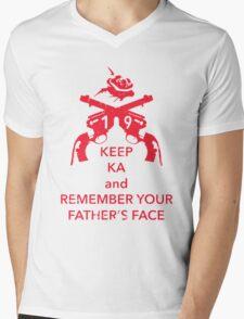 Keep KA - red edition Mens V-Neck T-Shirt