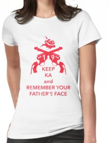 Keep KA - red edition Womens Fitted T-Shirt