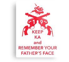 Keep KA - red edition Metal Print