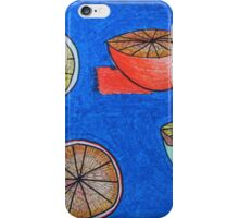 Blue Orange iPhone Case/Skin