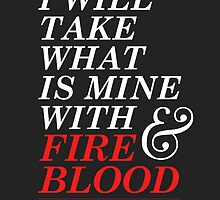 Fire and Blood by Redel Bautista