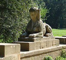 Sphinx - The castle park Veltrusy II. by Natas