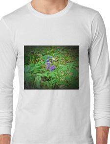 Purple Caps Long Sleeve T-Shirt