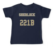 Sherlock 221B Jersey Baby Tee