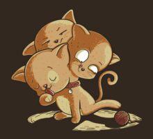 Cat Cerberus by DiJay