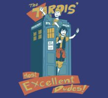 Tardis' Excellent dudes by ronairis