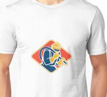 Sandblaster Sandblasting Hose Retro Unisex T-Shirt