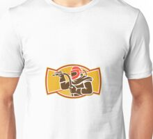Sandblaster Sandblasting Hose Side Retro Unisex T-Shirt