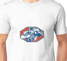 Automotive Mechanic Car Repair Retro Unisex T-Shirt