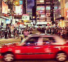 Rush hour in Hongkong by miresk