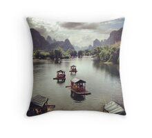 Yangshuo Throw Pillow