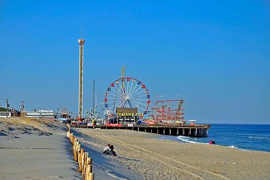 Summer Fun - Funtown Pier Seaside Heights NJ by Paul Gitto