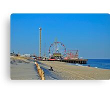 Summer Fun - Funtown Pier Seaside Heights NJ Canvas Print