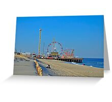 Summer Fun - Funtown Pier Seaside Heights NJ Greeting Card