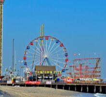 Summer Fun - Funtown Pier Seaside Heights NJ Sticker