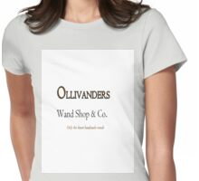 Ollivanders Wand Shop & Co.  Womens Fitted T-Shirt
