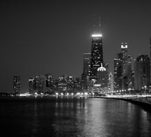 Chicago, Black + White by dingobear
