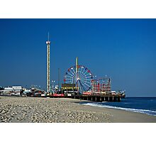 Funtown Pier - As It Was Photographic Print