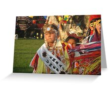 Native American Dance Greeting Card