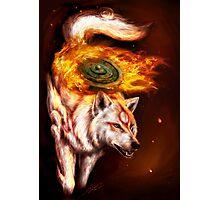 Okami wolf realistic style Photographic Print