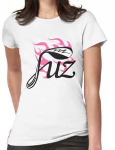 Flaming fuz Womens Fitted T-Shirt