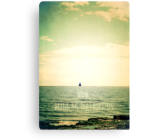 Now, bring me that horizon Canvas Print