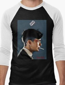 Peaky Blinders - clean background Men's Baseball ¾ T-Shirt