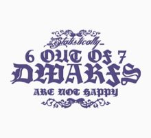 6 out of 7 Dwarfs by ummmco