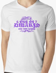 6 out of 7 Dwarfs Mens V-Neck T-Shirt